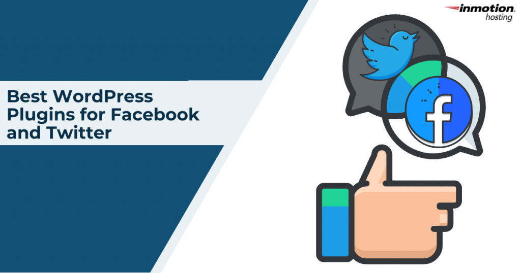 WordPress plugins for facebook and twitter