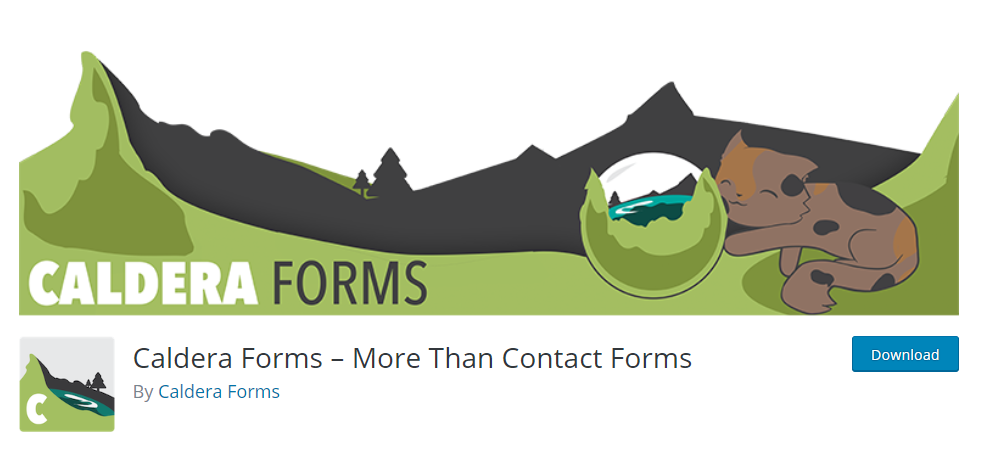 Caldera forms for wordpress