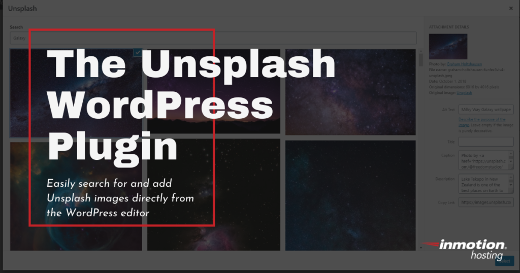 Unsplash for WordPress