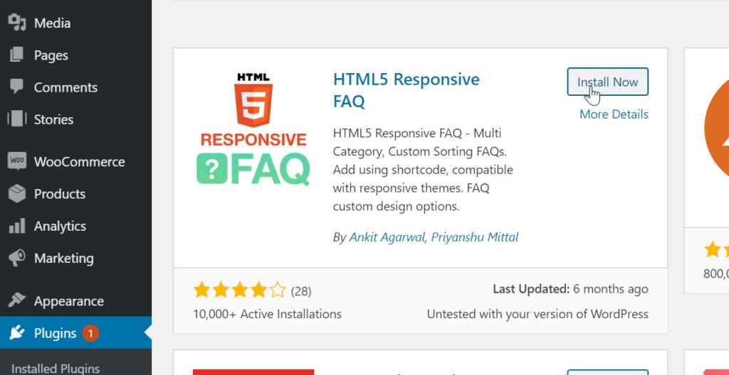 Install HTML5