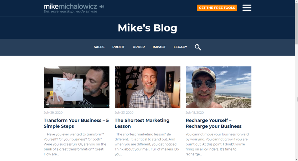 WordPress Thought Leadship Ex5