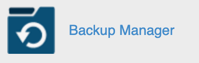 cPanel backup icon
