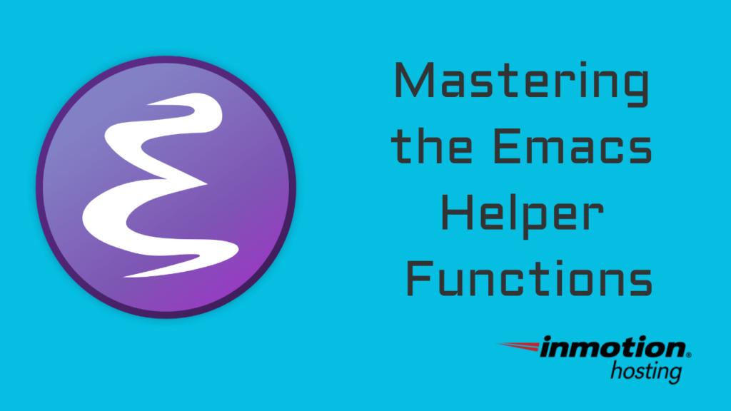 emacs helper functions