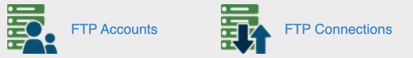 cPanel FTP icons