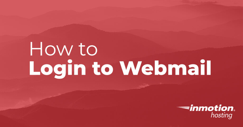 How to Login to Webmail