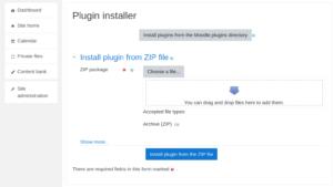 Moodle Plugin Installer