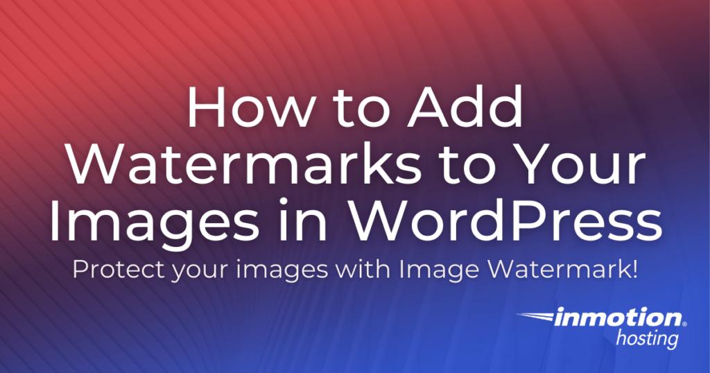 Imagewatermark