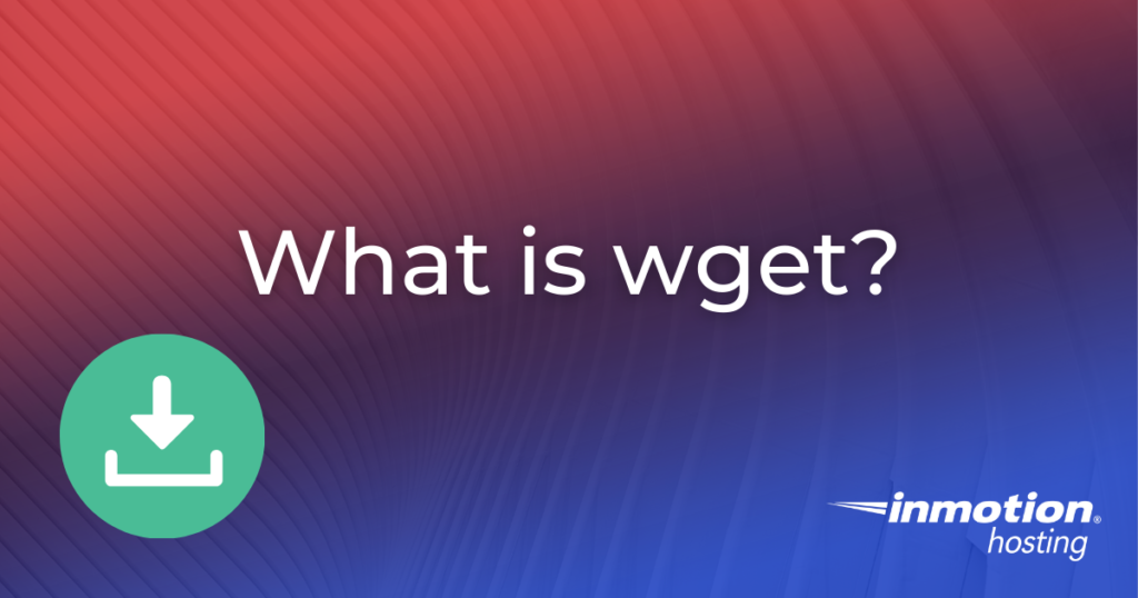 What is wget