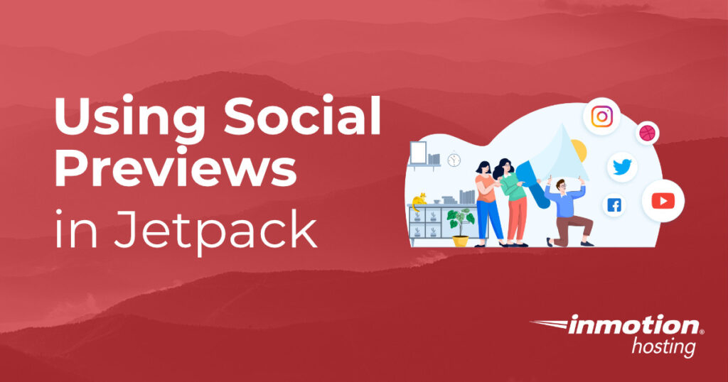 Using Social Previews in Jetpack header graphic