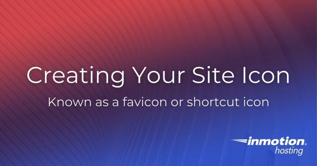 site icon header