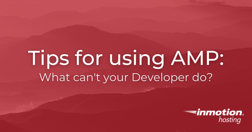 tips for AMP title image