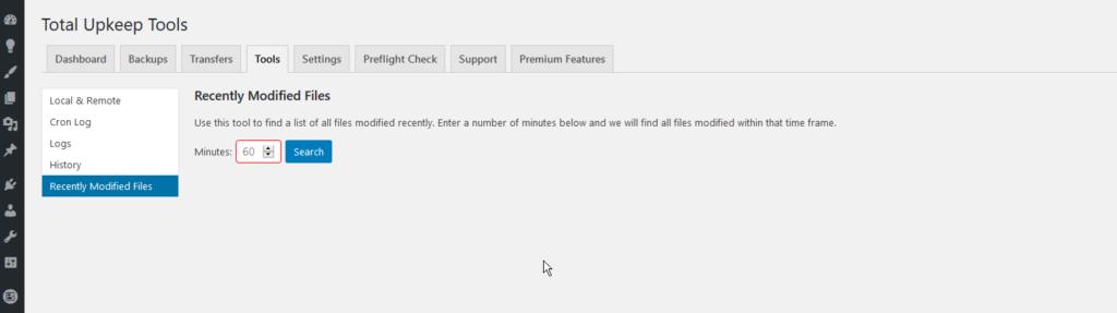 total upkeep mod files