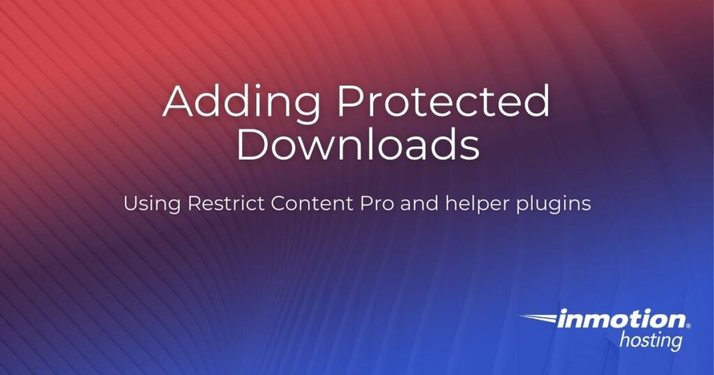 Protected Downloads
