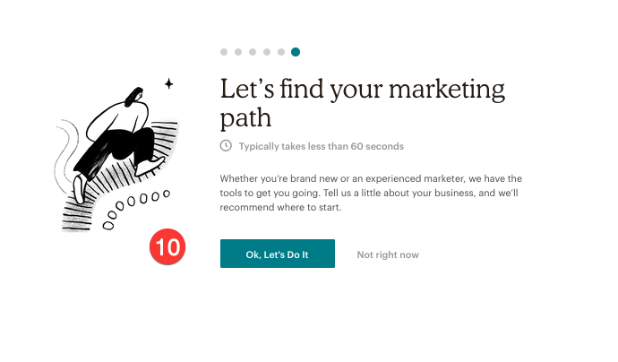marketing help with Mail chimp