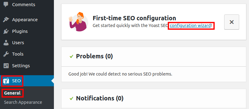 clean settings from other seo plugin