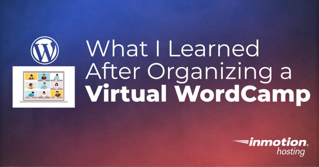 What I learned after organizing a Virtual WordCamp title graphic