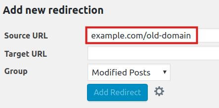 create 301 redirect in wordpress