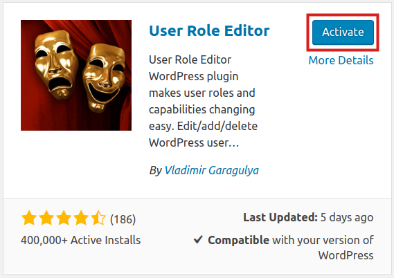 install user role editor