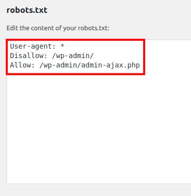 edit robots txt file
