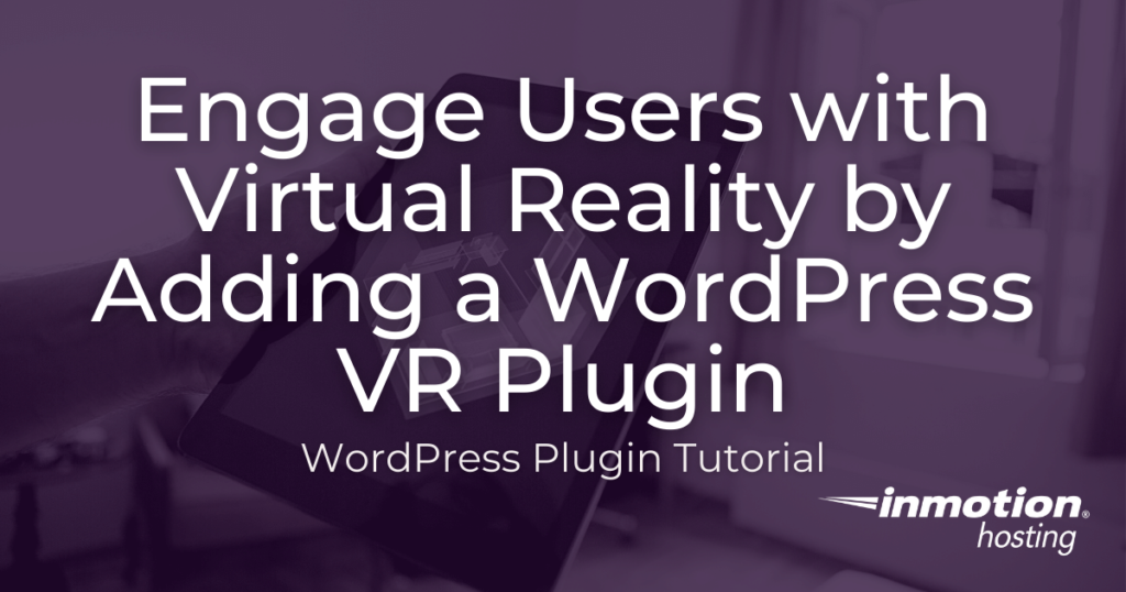 Add virtual reality to wordpress