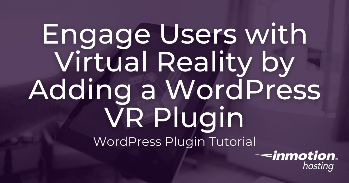 virtual reality wordpress