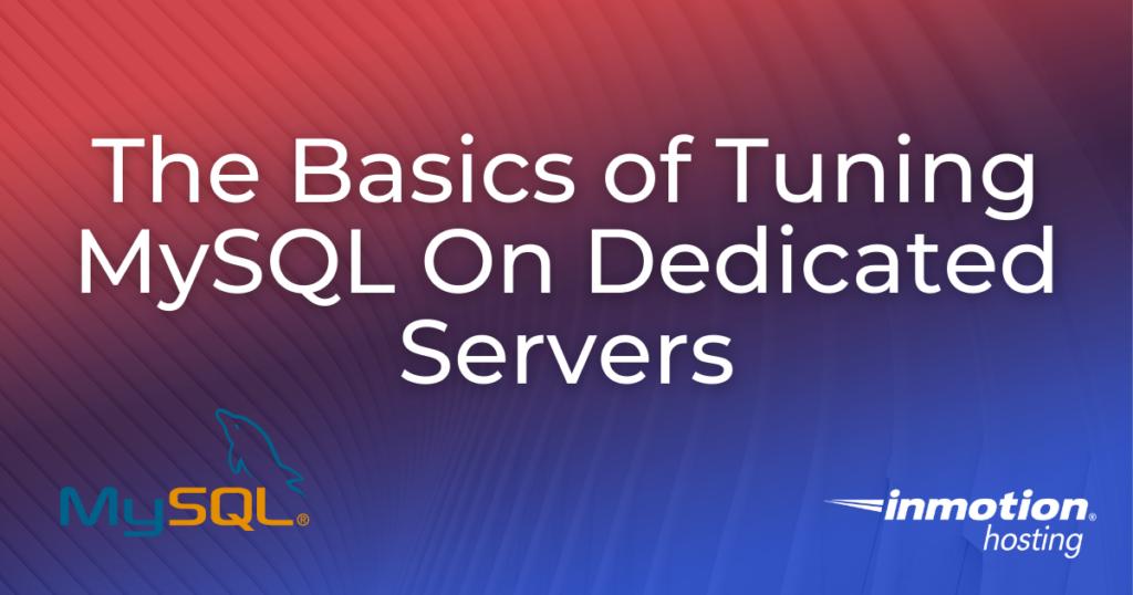 MySQL Tuner Title Image