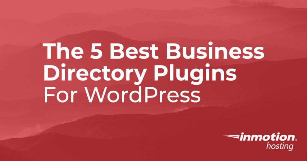 Business Directory plugins header image