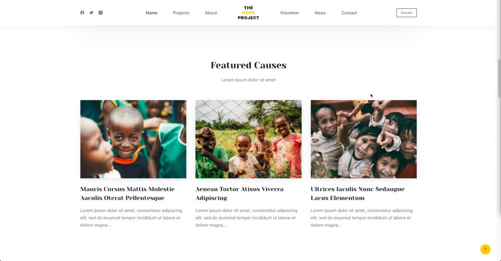 featured causes