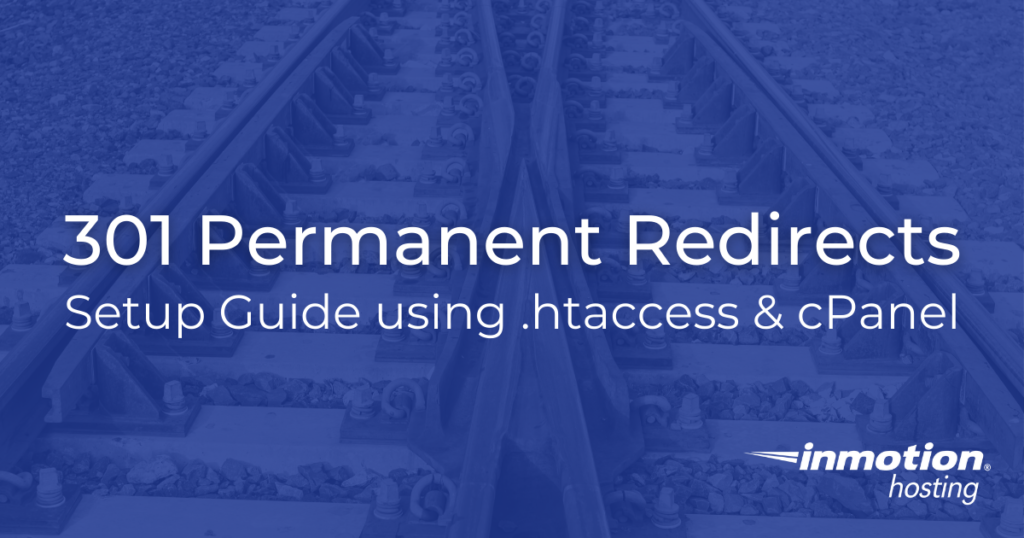 301 Permanent Redirects Title Image