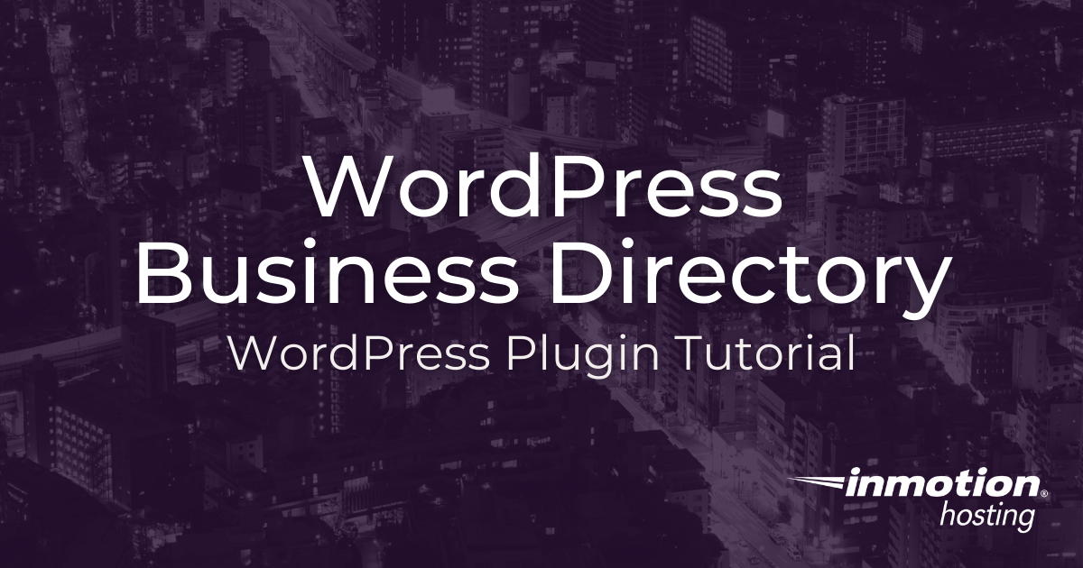 WordPress Business Directory Plugin