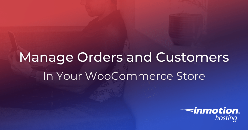 Man on smartphone managing orders in WooCommerce store.