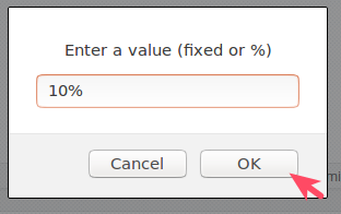 Save Variable Price Setting