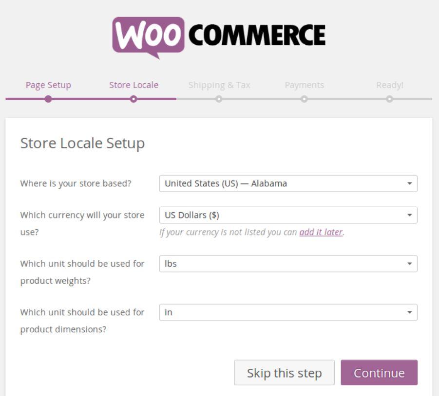 WooCommerceStoreLocale