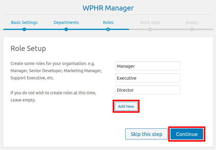 Set Up a HR Role in WordPress