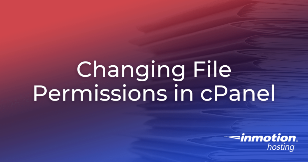 Changing File Permissions in cPanel article image