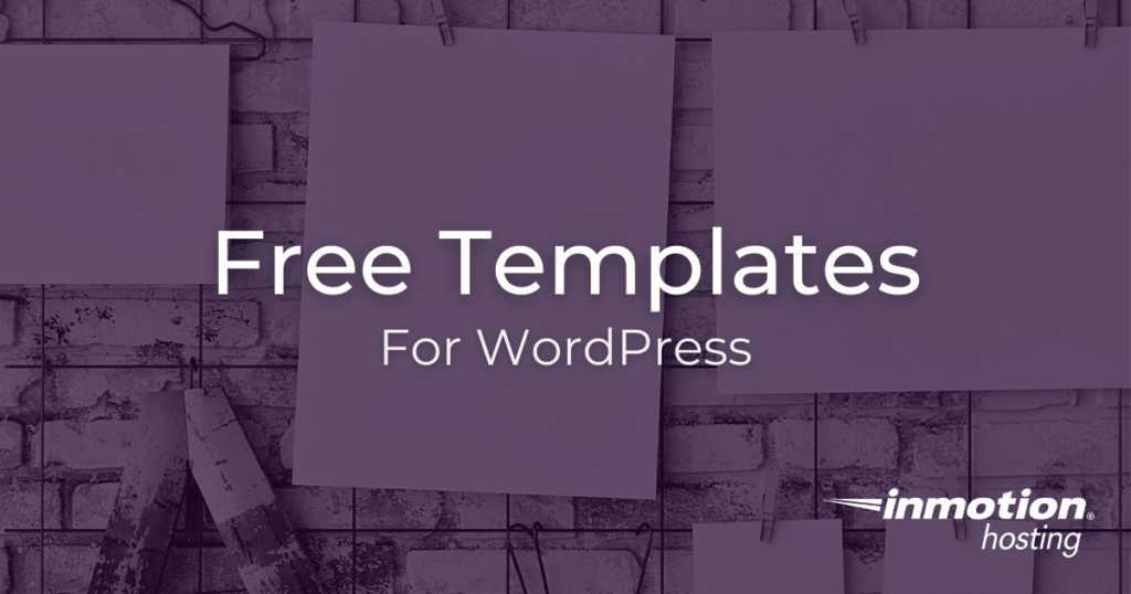 Free Templates Built by BoldGrid for WordPress Hosting