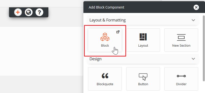 Select Block