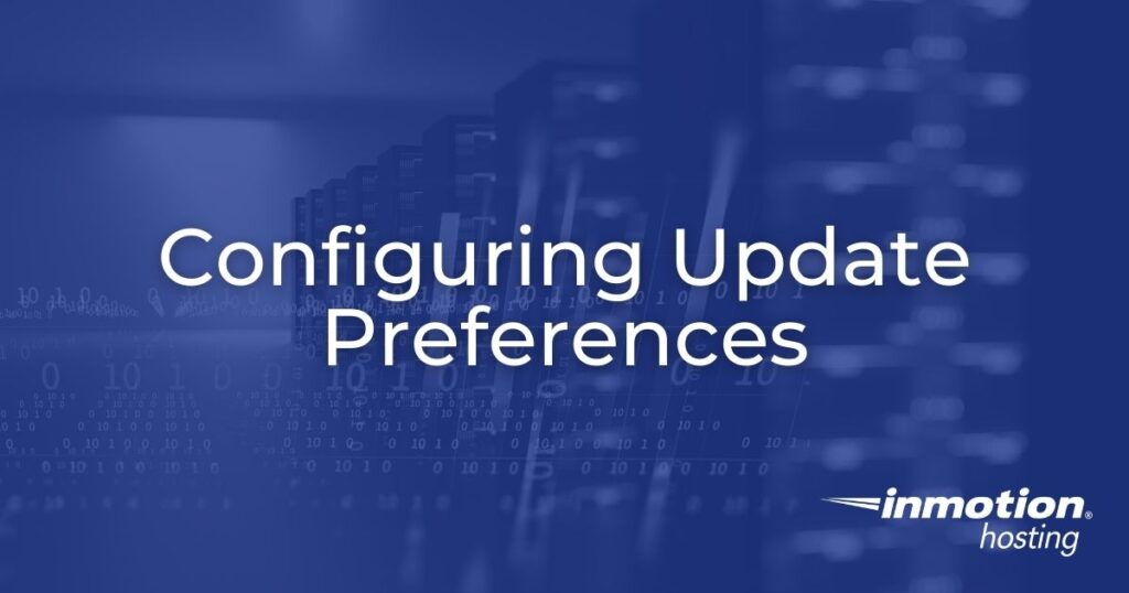 Configuring Update Preferences Hero Image