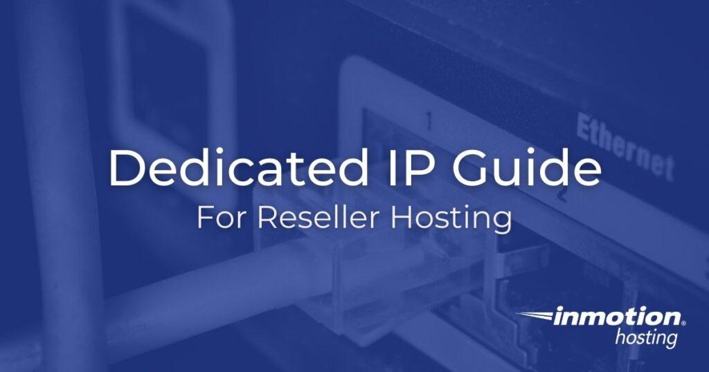 Dedicated IP Guide Hero Image