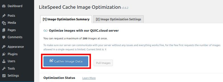 Caching Image Data