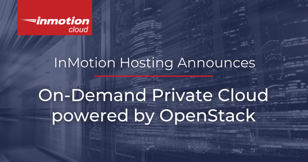 On-Demand Private Cloud Powered by OpenStack General Availability title image
