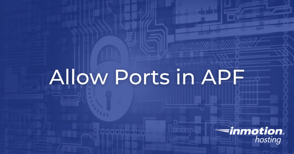 Allow Ports in APF Hero Image