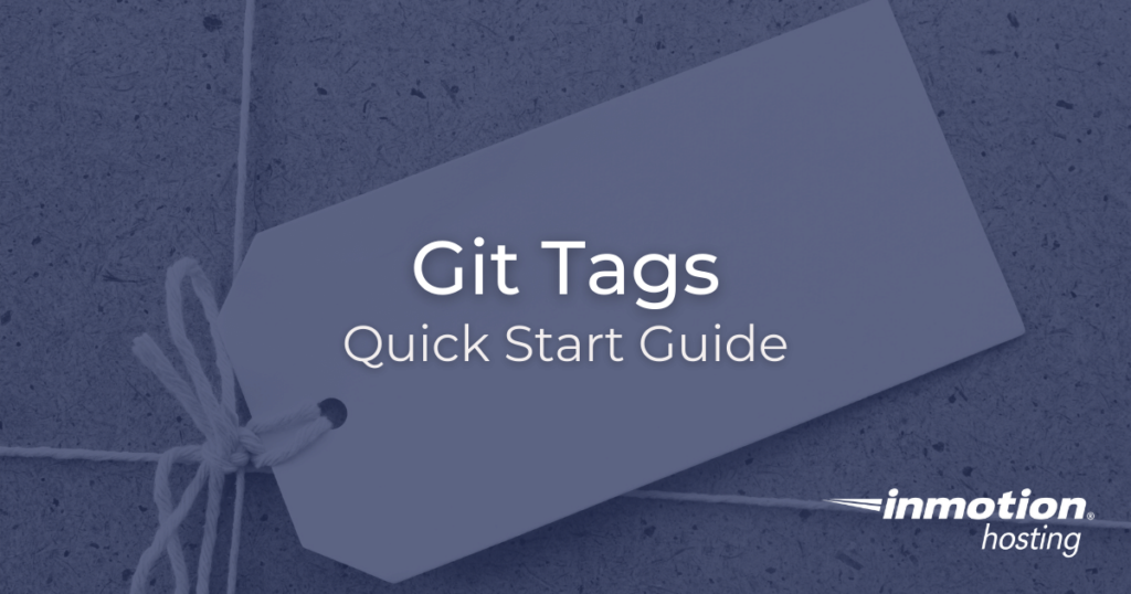 How to use Git Tags