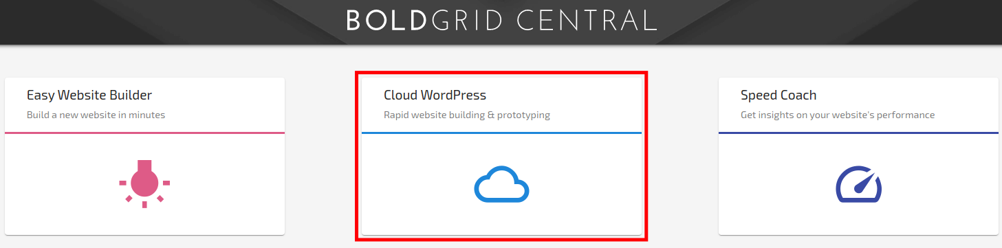 Accessing Cloud WordPress to Create a WordPress Staging Site