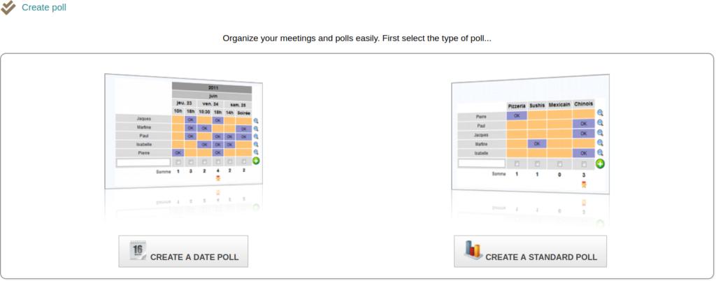 Dolibarr Create Poll Options