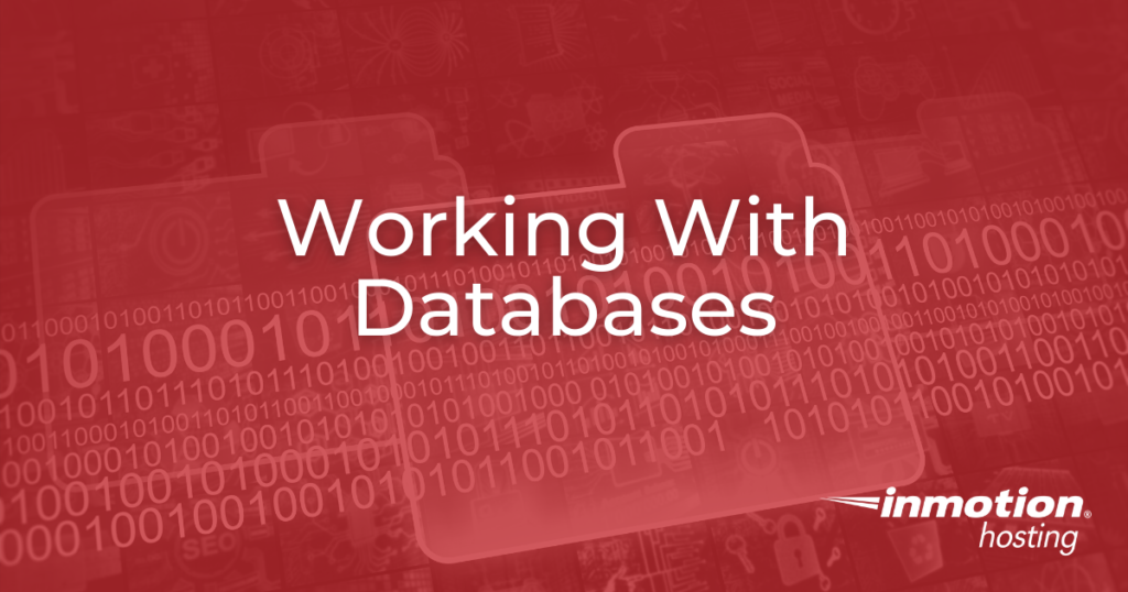 Working with Databases pillar page header image