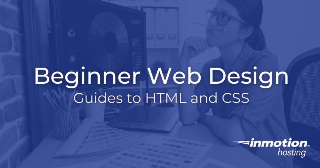 Beginner Web Design Title Image
