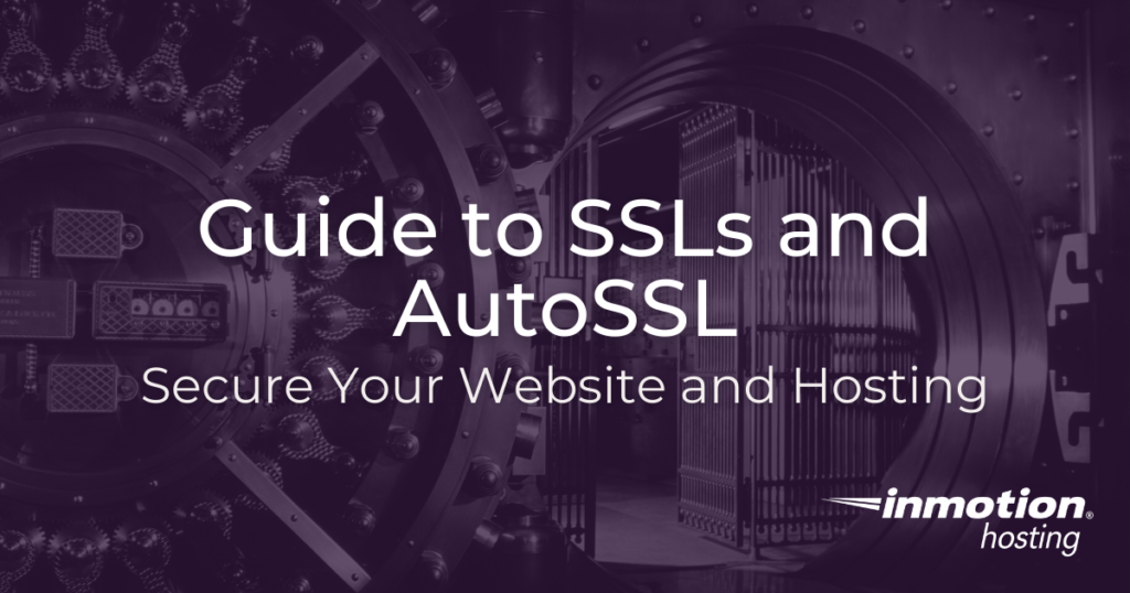 Guide to SSLs and AutoSSL TItle Image