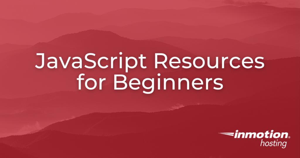 JavaScript Resources Title Image