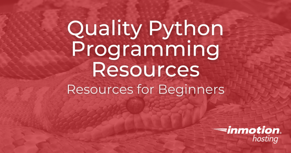 Quality Python Programming Resources Title Image